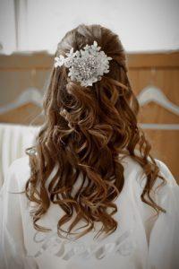 Coiffures de mariée avec les cheveux lâchés