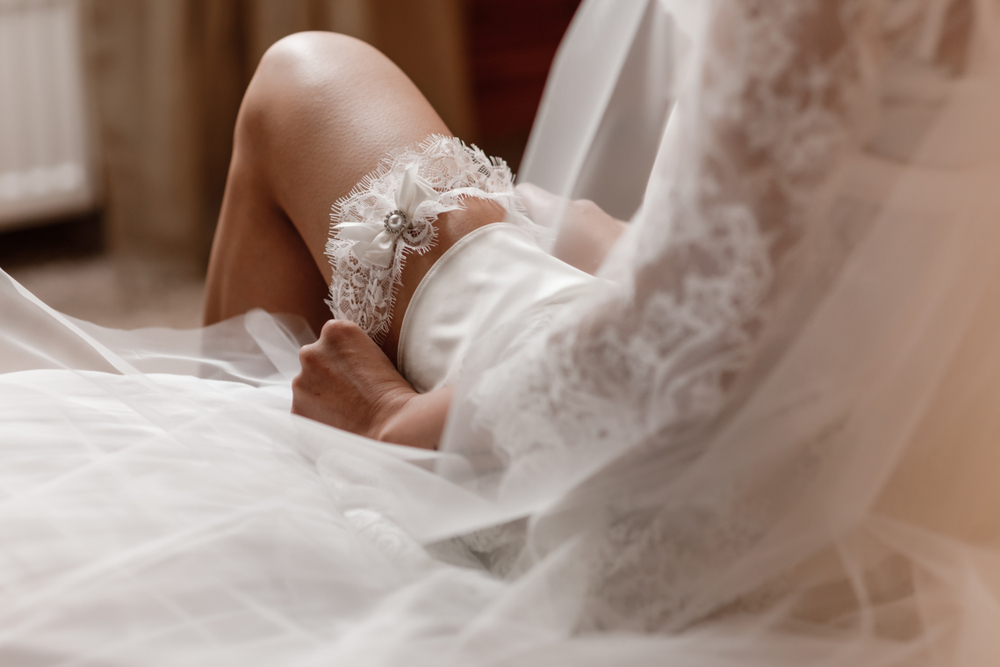 Jarretière de mariage