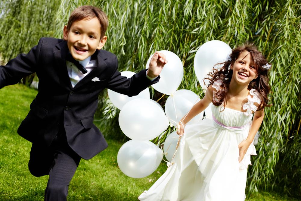 idées d'animations de mariage pour les enfants