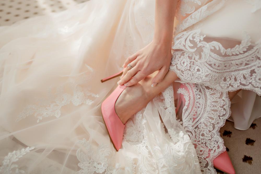 chaussures mariée couleur