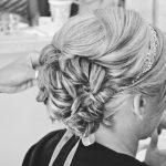 cheveux courts pour un mariage