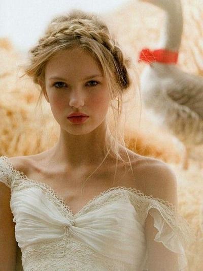 coiffure tresse mariage