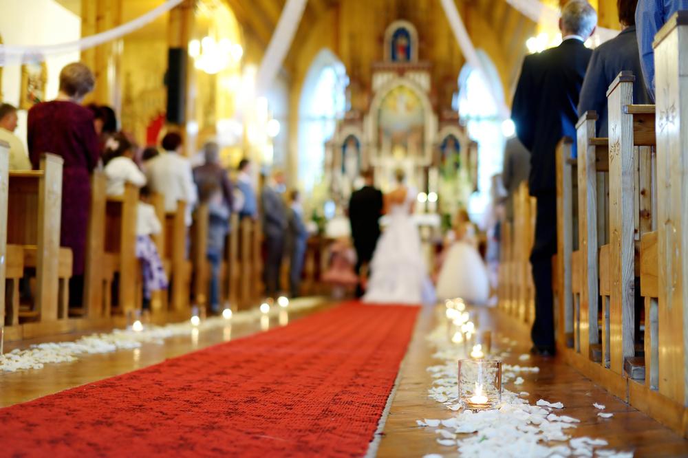 décorer église mariage