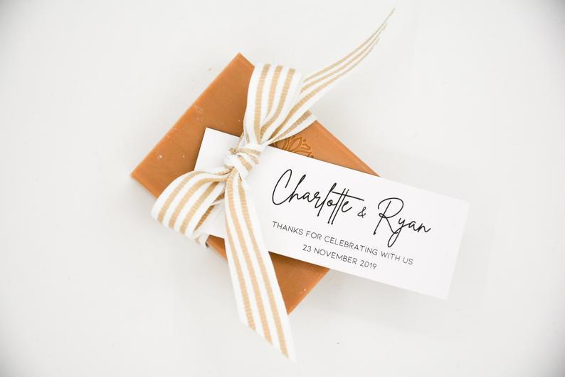 10 idées pour des cadeaux d'invité de mariage personnalisés et tendances