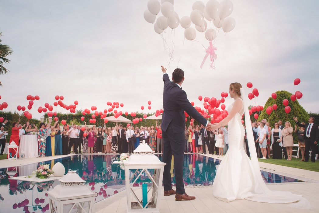 idees decoration mariage avec ballons