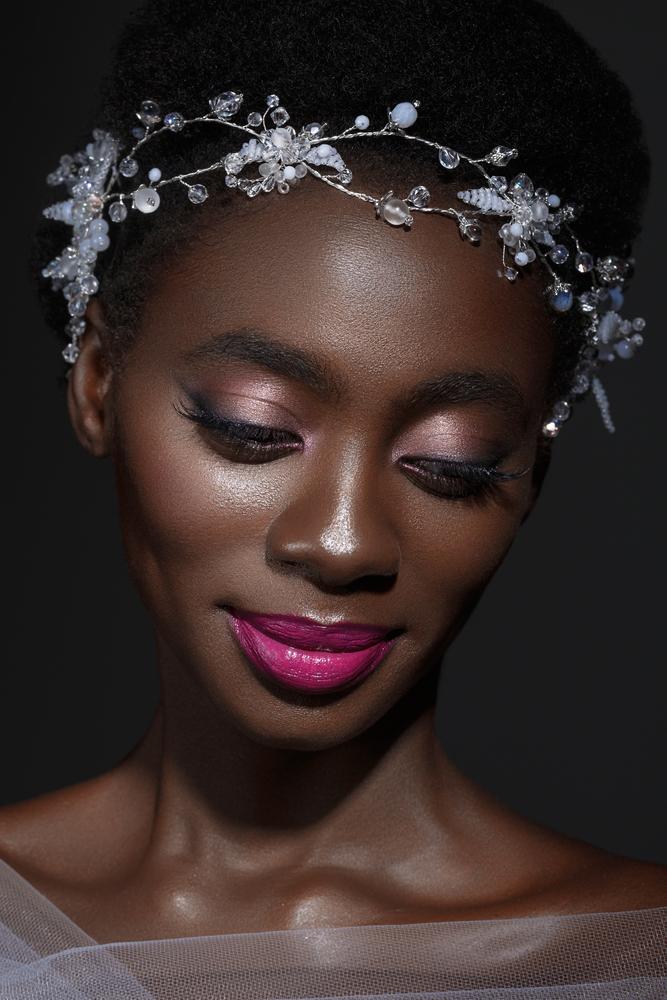 maquillage mariée peau noire
