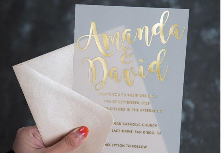 papier velin faire part mariage
