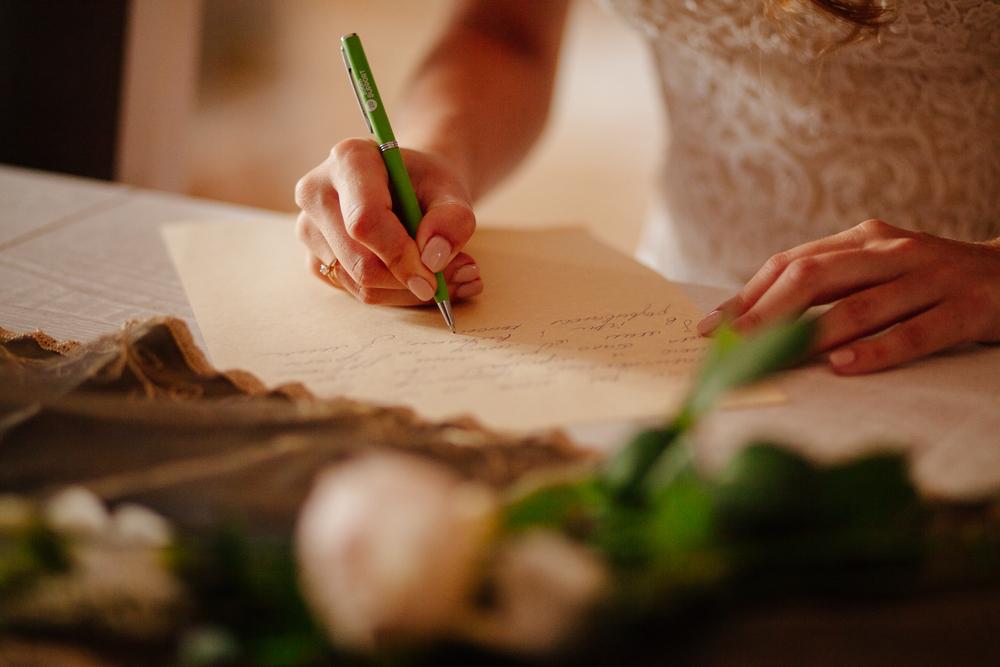 rédiger vœux de mariage