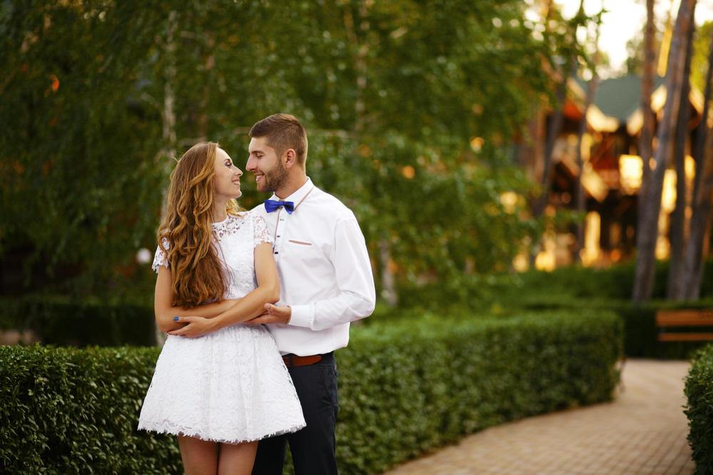 robe de mariée originale courte